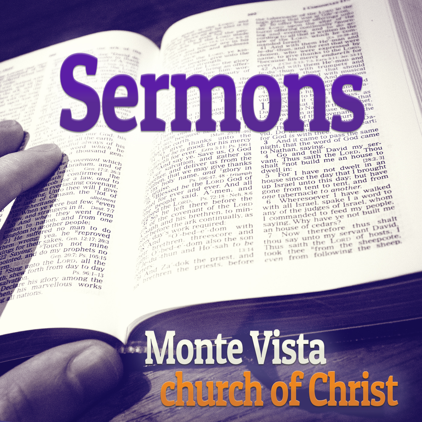 Sermons by the Monte Vista church of Christ